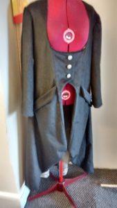 steampunk black coat