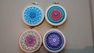 4 seasons in mandalas