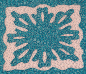 Hawaiian patchwork/applique